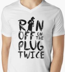 Ran off on the plug twice T-Shirt
