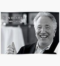 Alan Rickman - RIP Poster