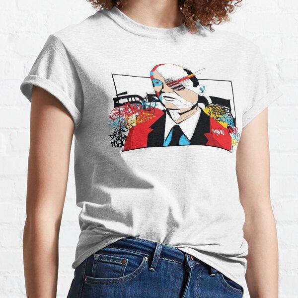 Moshe Dayan - Pop Art Israeli leader Classic T-Shirt