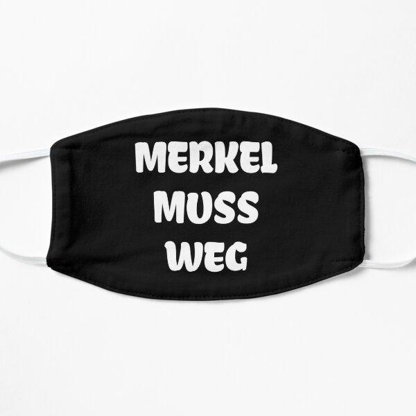 Merkel muss weg Flat Mask