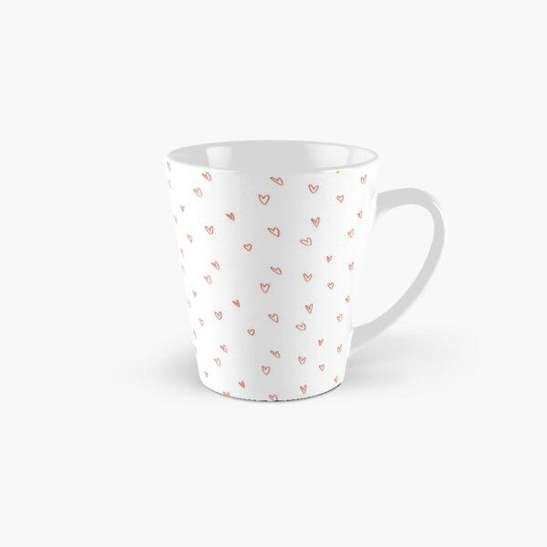 Cute Heart Doodle Pattern Tall Mug