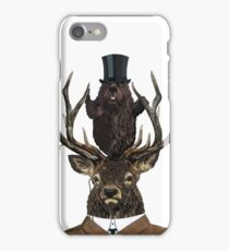 The Earl & Council - with hidden pictures iPhone Case/Skin