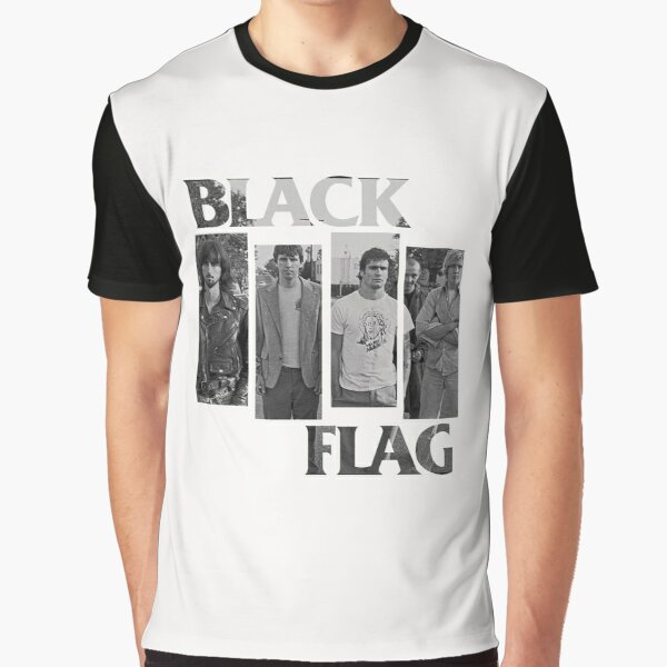 BLACK FLAG Graphic T-Shirt