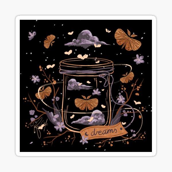 Bottled Dreams - Inktober 2020 Sticker