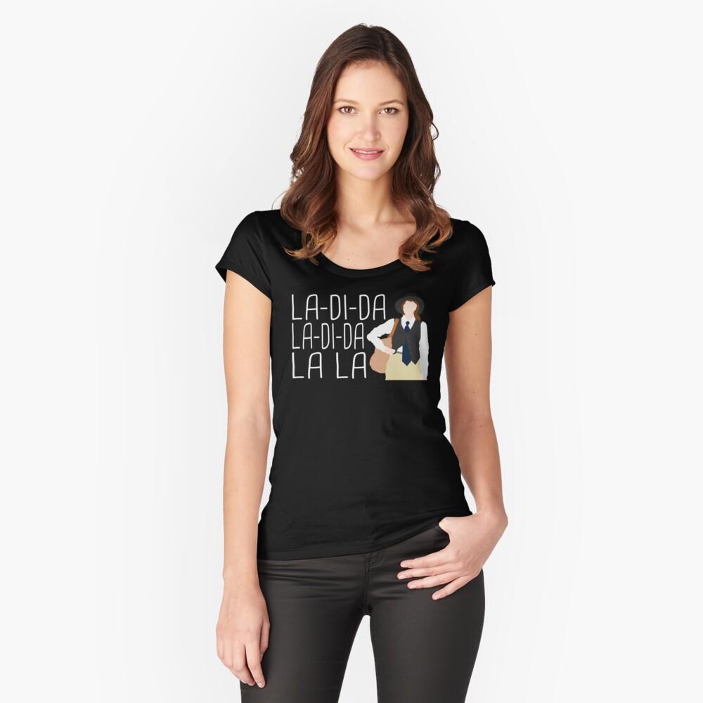 La-Di-Da Annie Hall Fitted Scoop T-Shirt