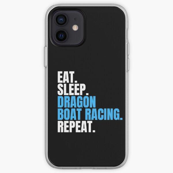 Eat Sleep Dragon Boat Racing Repeat iPhone Soft Case