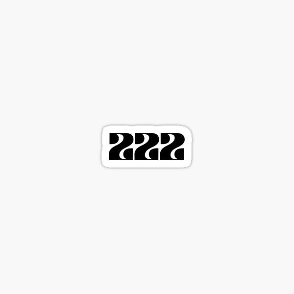 ANGEL 222 Sticker