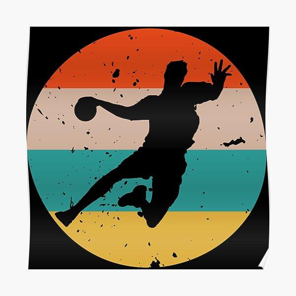 Handball Vintage Poster
