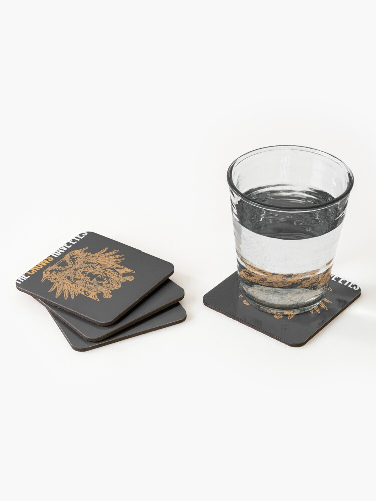 Alternate view of Copy of The Crows Have Eyes Coasters (Set of 4)