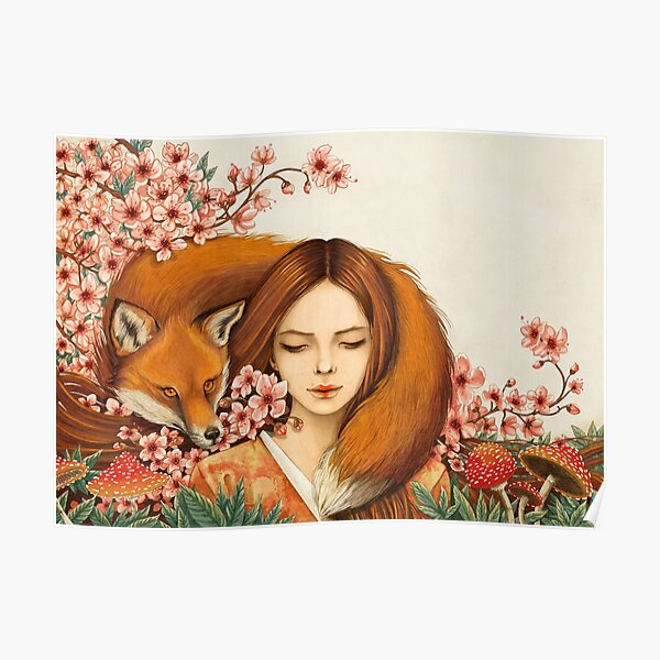 Red Fox Totem. Poster