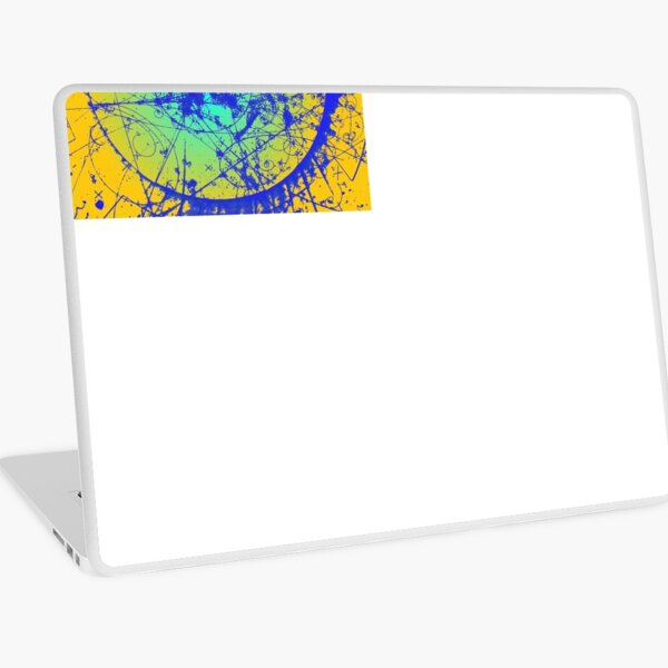 Cloud Chamber Event, Electron and Positron Laptop Skin