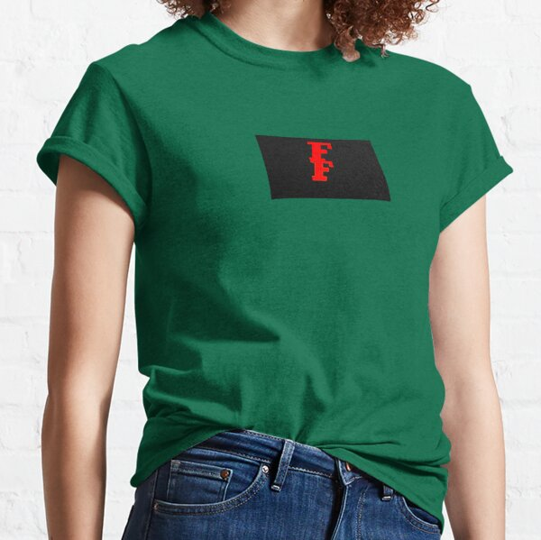 Red FF solid Classic T-Shirt