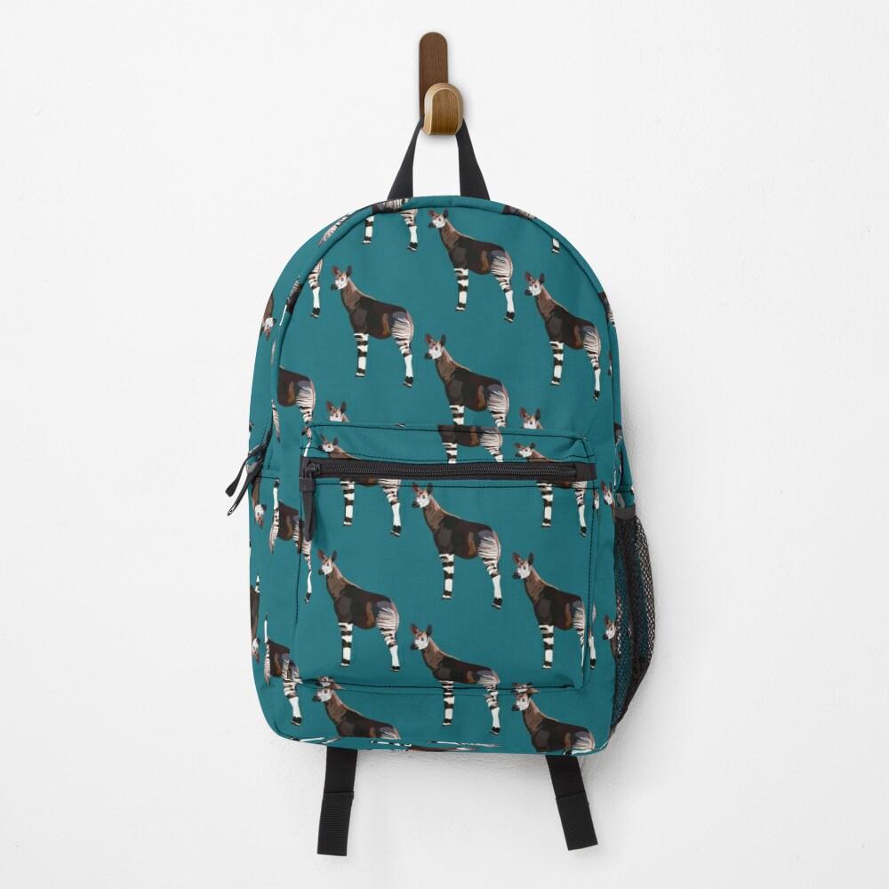 O is for Okapi  Backpack