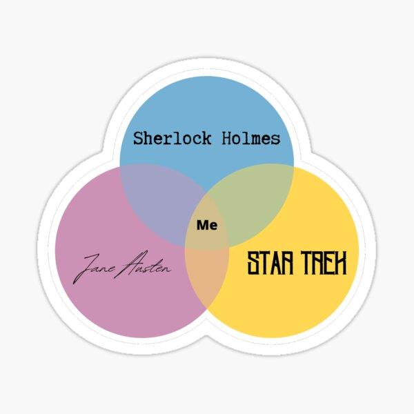 Mary's Venn Diagram Sticker