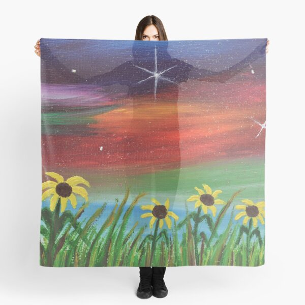 Sunflowers at Sunset  Scarf