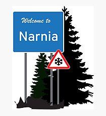 Narnia traffic Photographic Print