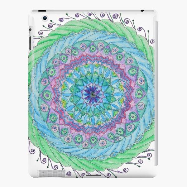 Peacock Feather Mandala iPad Snap Case