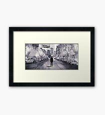 (500) Days of Summer- Lonely Tom Sketch Framed Print