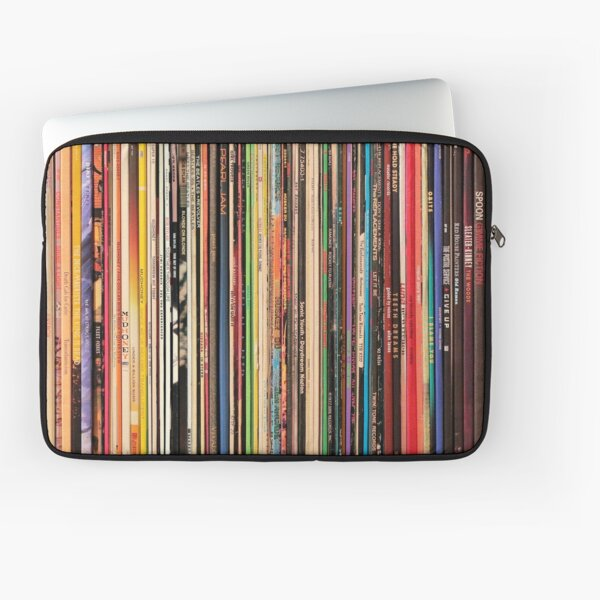 Record Collector Laptop Sleeve