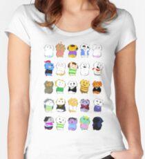 Undertale - Underkitties Women's Fitted Scoop T-Shirt