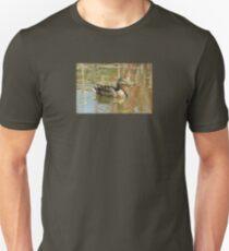 Female Mallard Duck in Pond T-Shirt