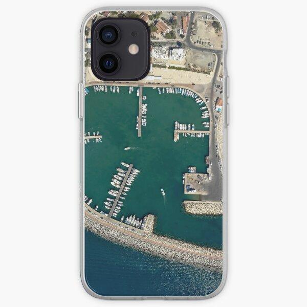 Birds eye view of Zygi Marina iPhone Soft Case