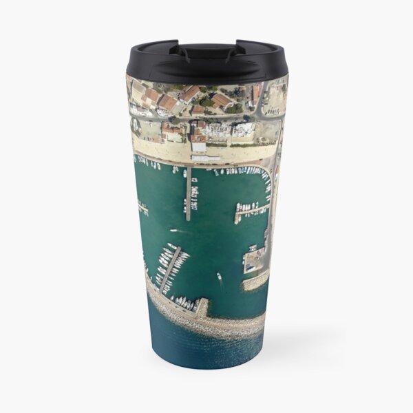 Birds eye view of Zygi Marina Travel Mug