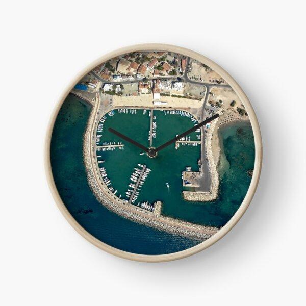 Birds eye view of Zygi Marina Clock