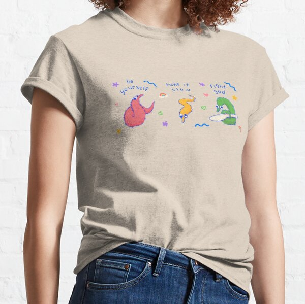 worm on a string Classic T-Shirt