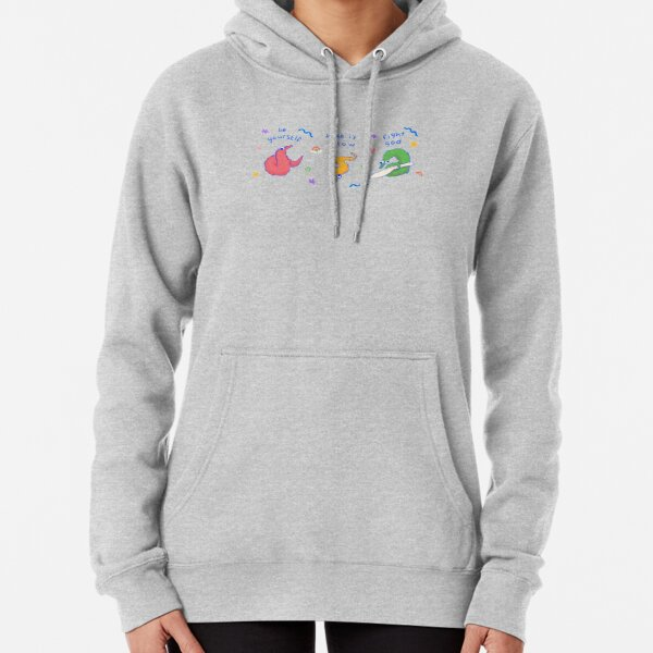 worm on a string Pullover Hoodie
