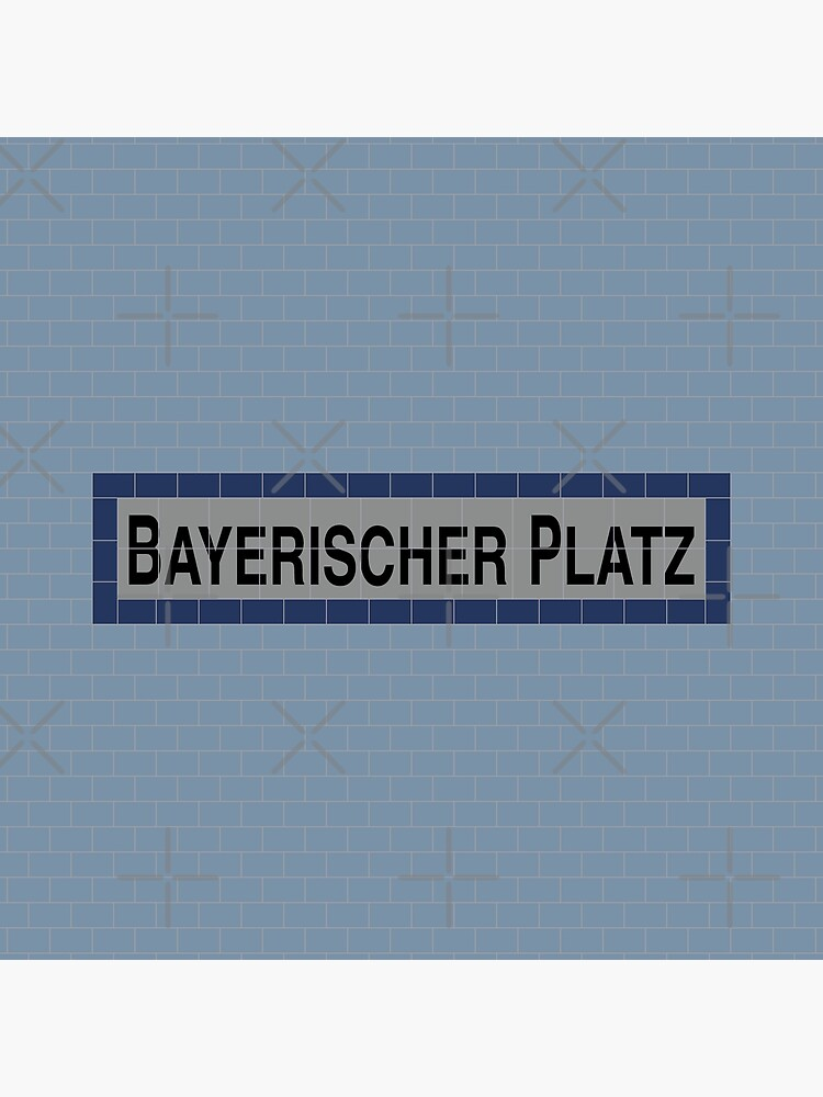 Bayerischer Platz Station Tiles (Berlin U4) by in-transit