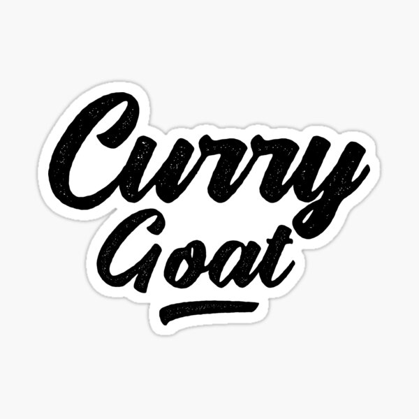 Caribbean Food Curry Goat Sticker