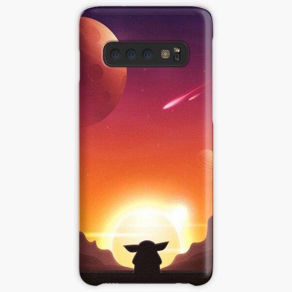 sunset in galaxy Samsung Galaxy Snap Case