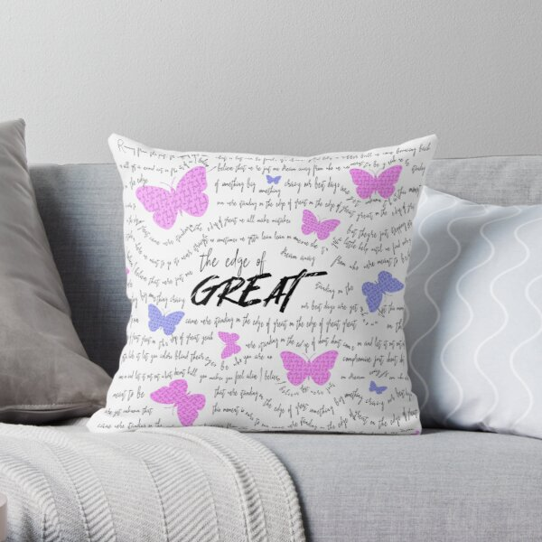 """""""Edge of Great"""" Julie and the Phantoms Throw Pillow"""