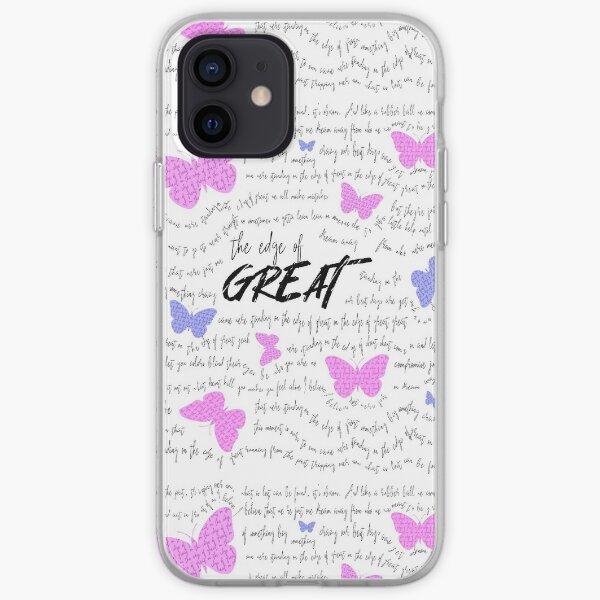"""""""Edge of Great"""" Julie y los fantasmas Funda blanda para iPhone"""