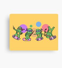Hovering Turtles! Canvas Print