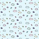 Cloudy Gem Print by EJ Landsman