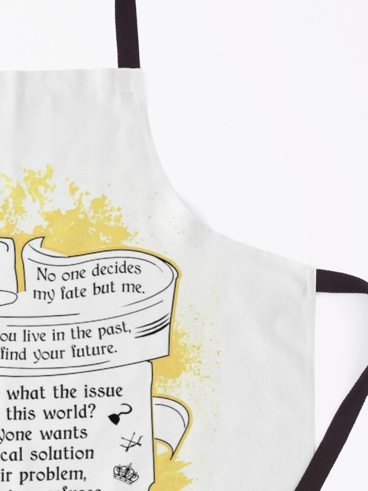 Alternate view of Oncer Quotes Apron