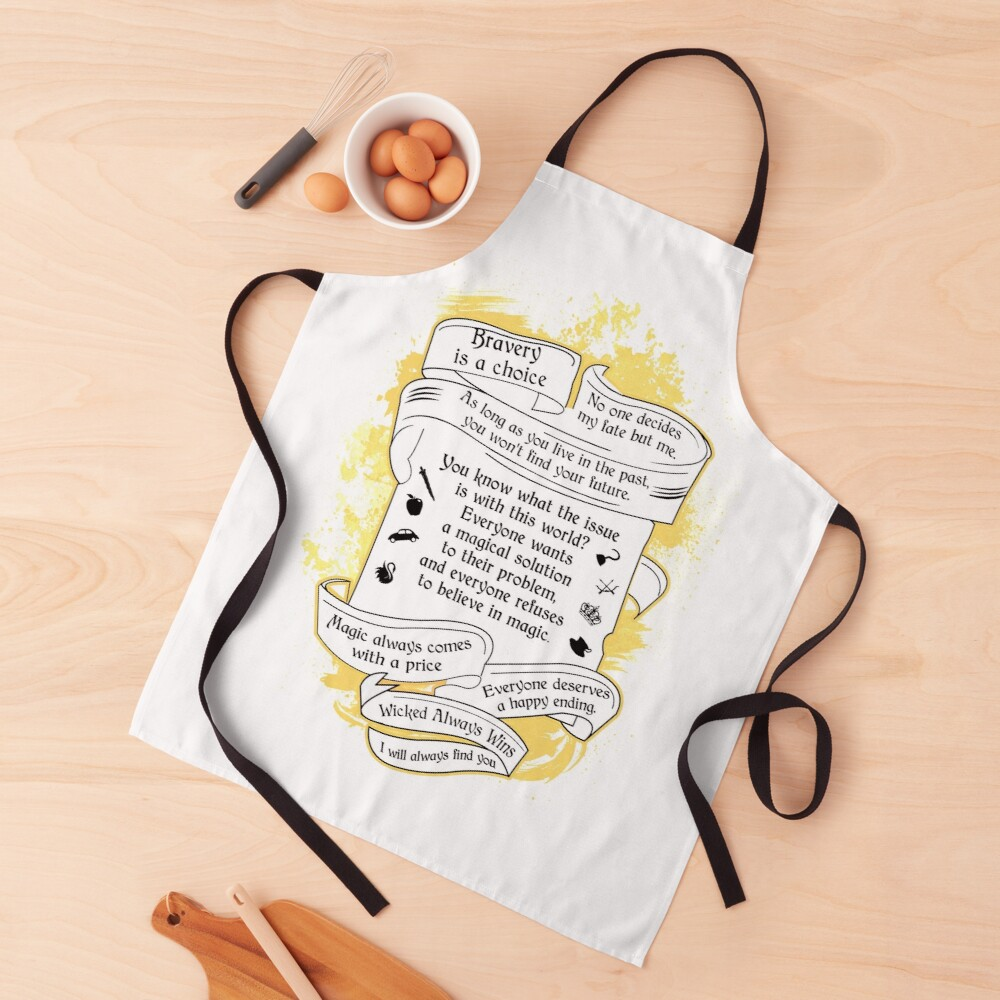 Oncer Quotes Apron