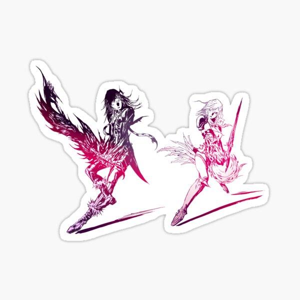 Final Fantasy XIII-2 Artwork Sticker