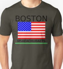 BOSTON, MSAEACHUBAETS Unisex T-Shirt
