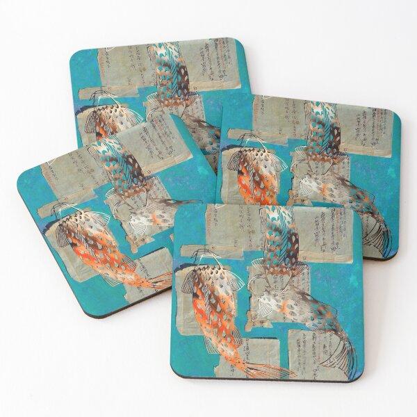 Koi Pond RB Coasters (Set of 4)