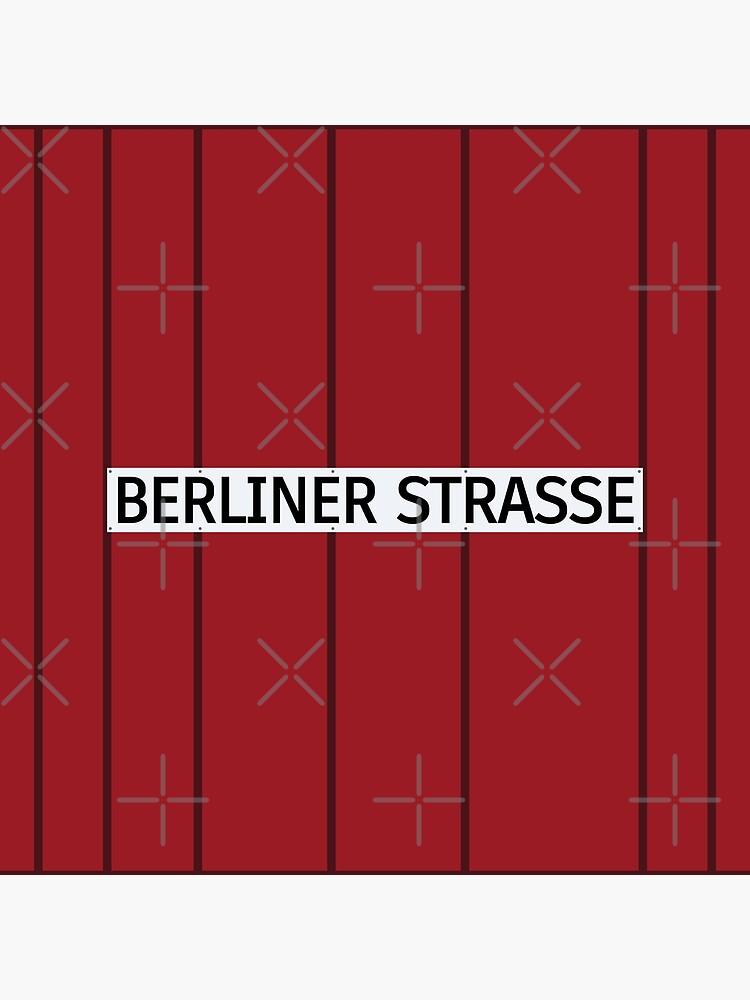 Berliner Straße Station Tiles (Berlin U7) by in-transit