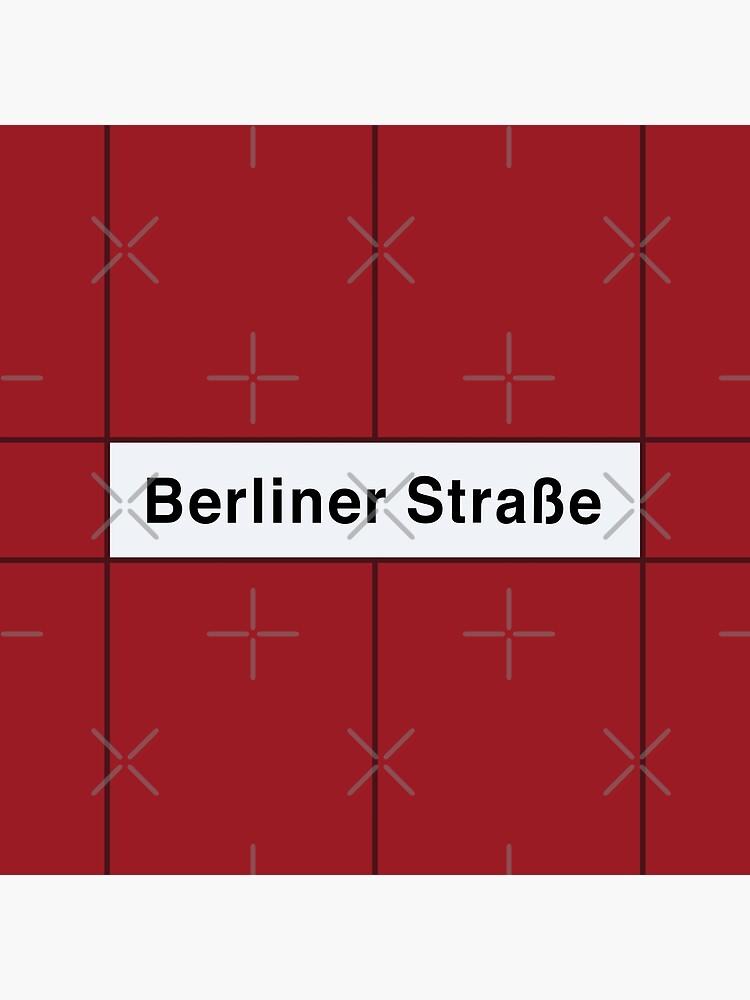 Berliner Straße Station Tiles (Berlin U9) by in-transit