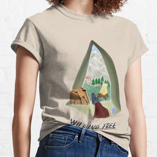wild and free adventure Classic T-Shirt