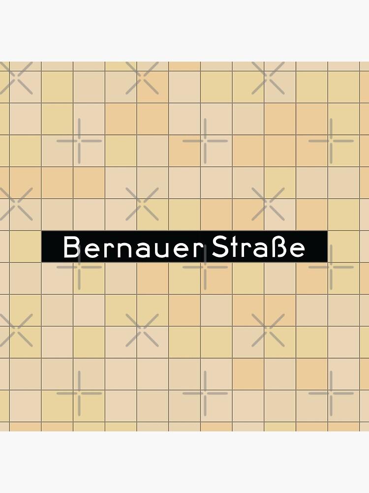 Bernauer Straße Station Tiles (Berlin) by in-transit