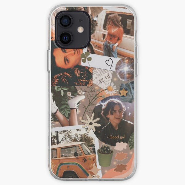 Timothee Chalamet Vintage Aesthetic Collage iPhone Soft Case