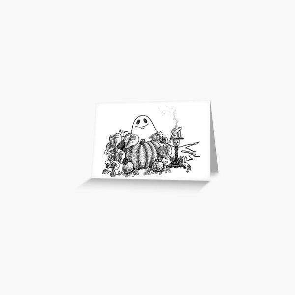 Spookfriend Greeting Card