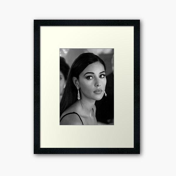 Monica Bellucci | Italian Beauty Framed Art Print