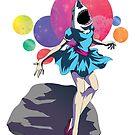 Shark Girl by PopPopPowerups